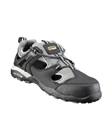 Blaklader 2428 Safety Sandal (Black Melange/Grey)